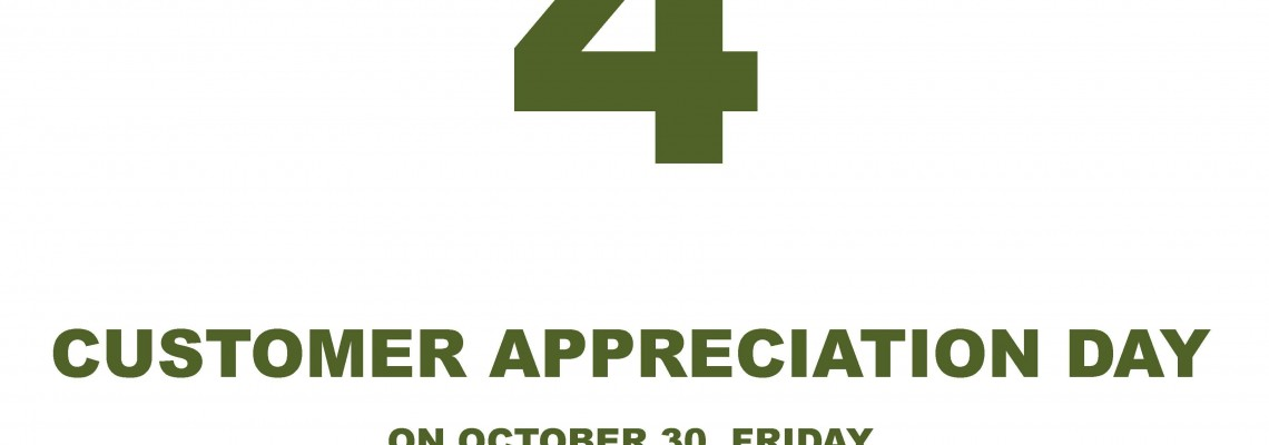 Customer Appreciation Day 4