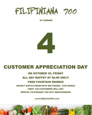 Customer Appreciation Day 4