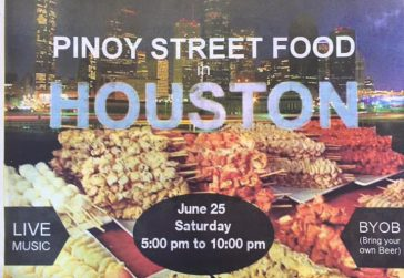 Pinoy Street Food in Houston
