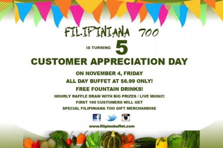 Customer Appreciation Day 5