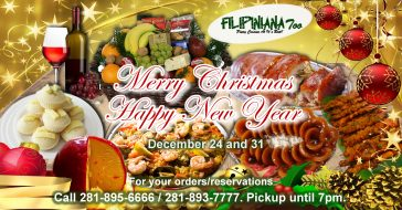 Merry Christmas 2016 & Happy New Year 2017