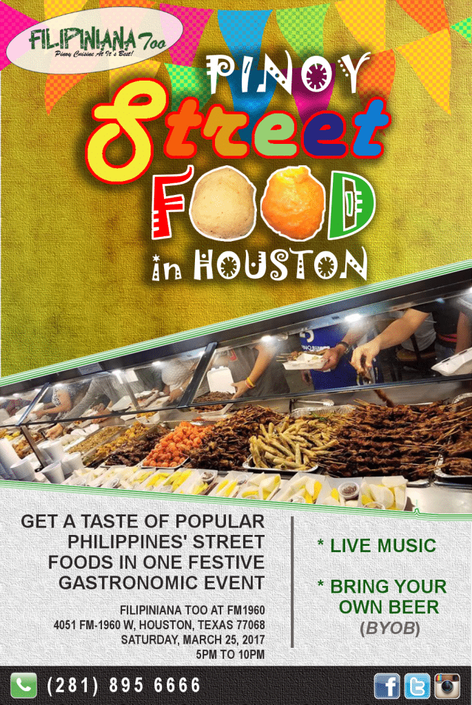 Pinoy street food in Houston 2017