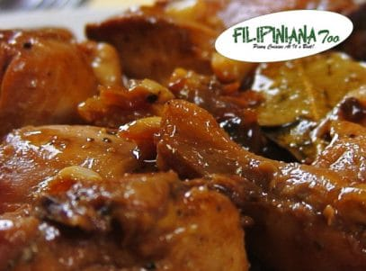 Filipiniana Too chicken adobo