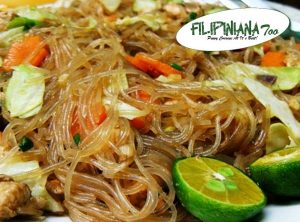 Filipiniana Too pancit sotanghon
