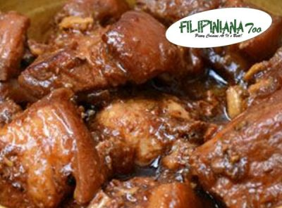 Filipiniana Too pork adobo