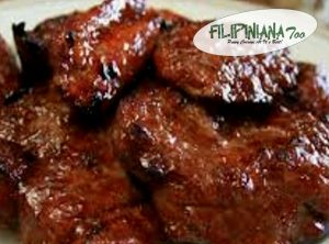 Filipiniana Too pork bbq