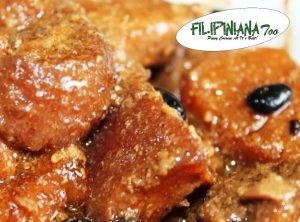 Filipiniana Too pork humba estofado