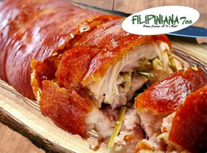 Filipiniana Too lechon belly